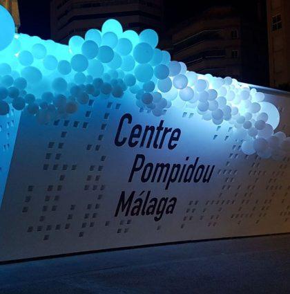 Centre Pompidou Málaga. Noche en Blanco 2017
